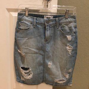 Paige Denim Grunge mini skirt